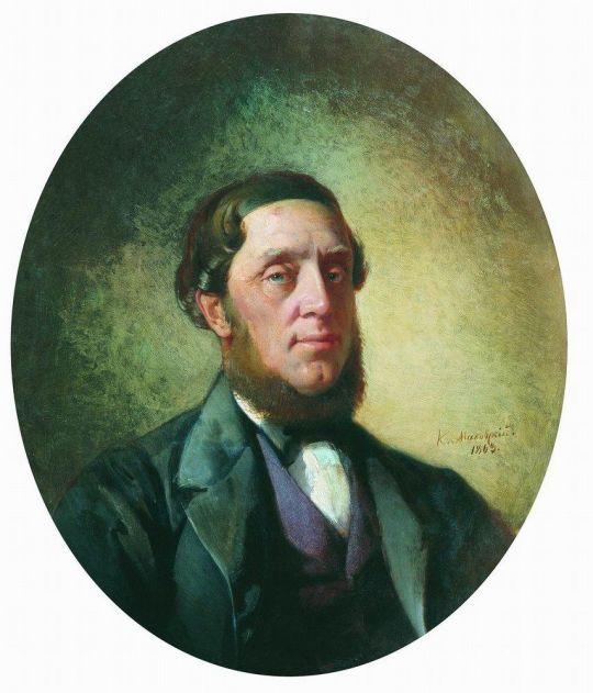 Мужской портрет. 1863