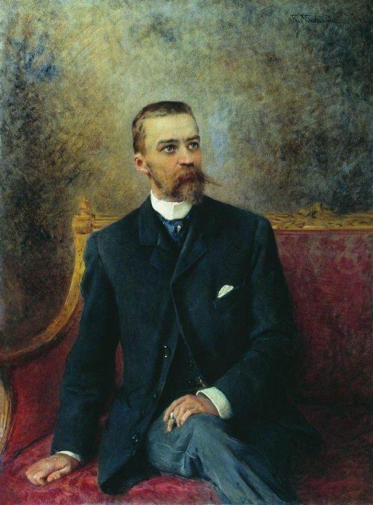 Портрет А.Г.Кузнецова. 1890-е