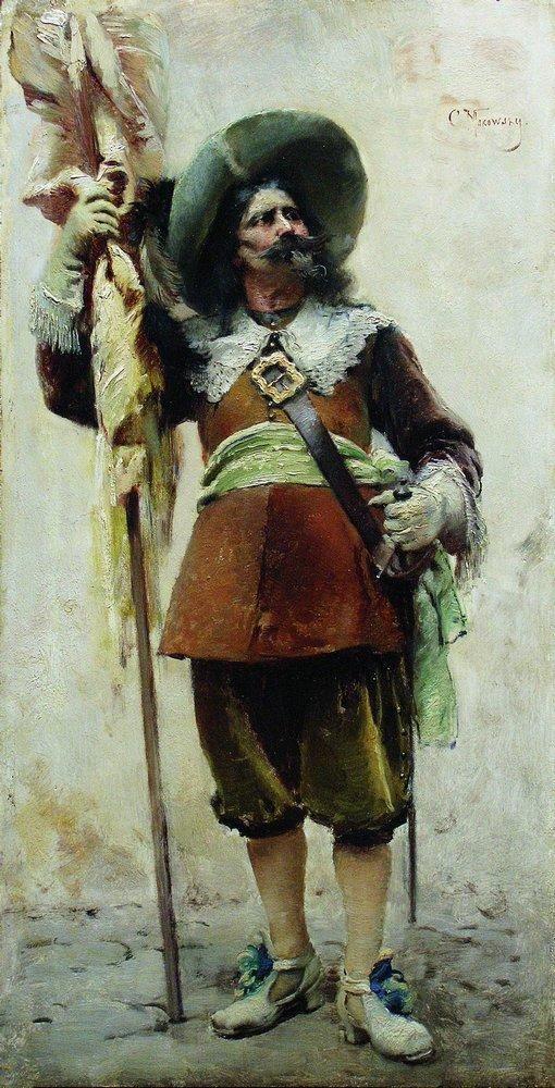 Мушкетер. 1880-е