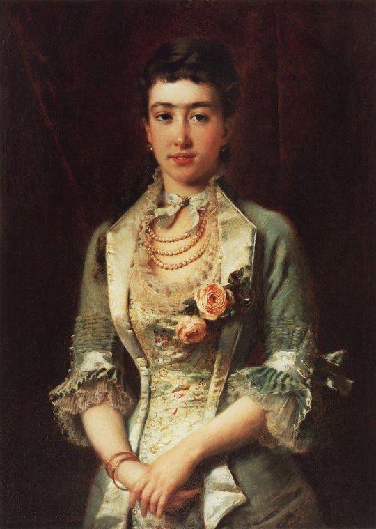 Портрет свояченицы (Е.П.Летковой). 1879