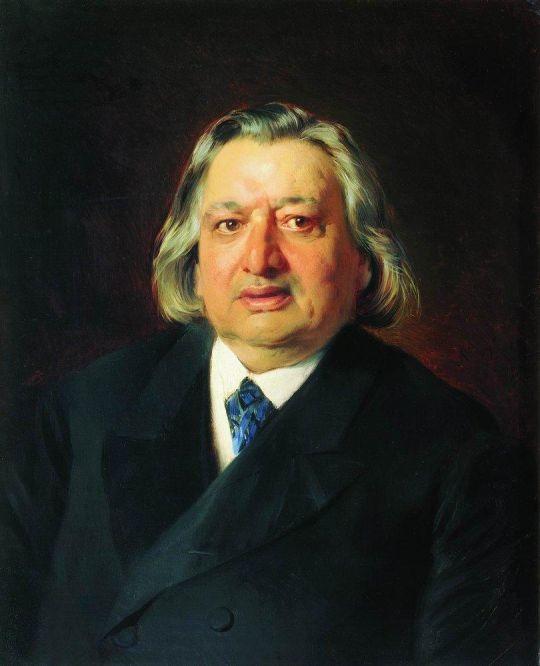 Портрет оперного артиста О.А.Петрова. 1871