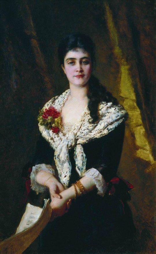 Портрет Панаевой-Карцевой
