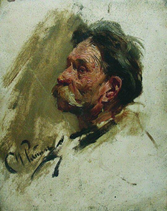 Портрет мужика. 1880-е