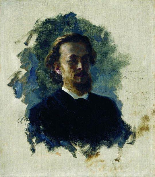 Голова мужчины. 1882