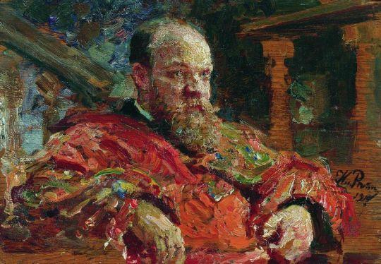 Портрет Н.В.Делярова. 1910