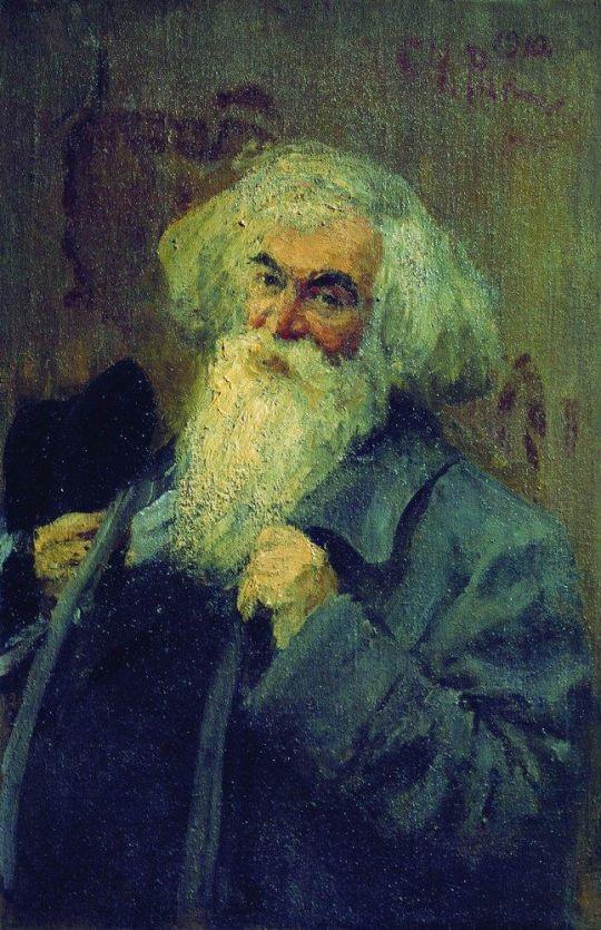 Портрет писателя И.И.Ясинского. 1910