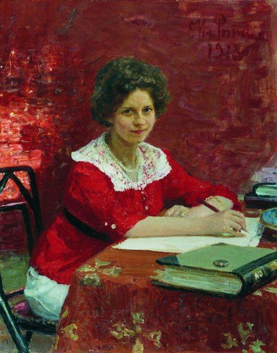 Портрет К.Б.Болеславовой. 1913