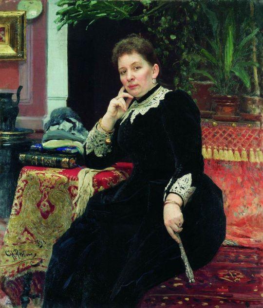 Портрет О.С.Александровой-Гейнс. 1890