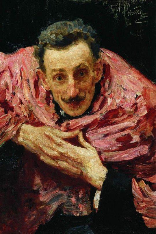 Портрет актера, драматурга и режиссера В.Д.Ратова (С.М. Муратова). 1910