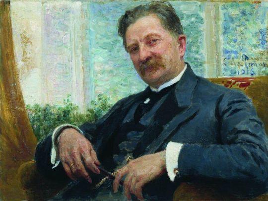 Портрет Венгерова. 1916