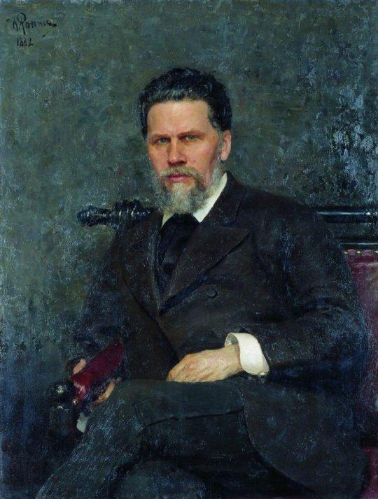 Портрет художника И.Н.Крамского. 1882
