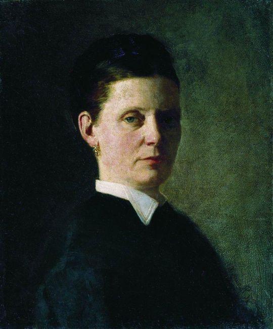 Женский портрет. 1874