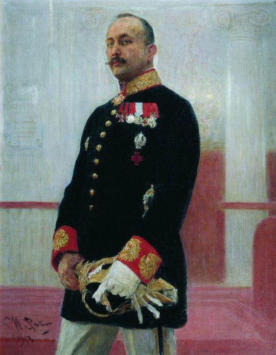 Портрет В.В.Гудовича. 1913