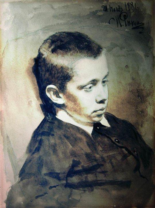 Портрет А.С.Матвеева. 1881