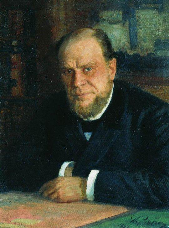 Портрет А.Ф.Кони. 1898