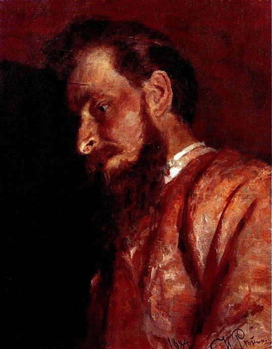 Портрет В.К.Менка. 1884