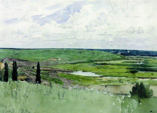 Пейзаж под Чугуевом