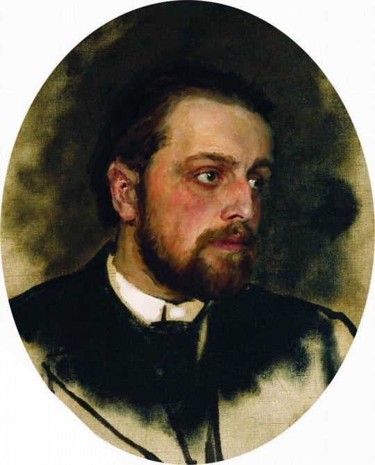 Портрет В.Г.Черткова. Конец 1880 - начало 1890-х