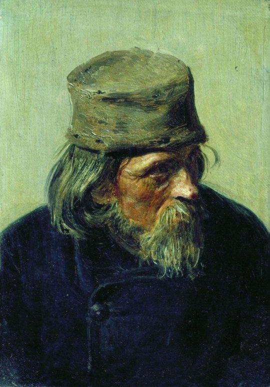 Продавец ученических работ в Академии художеств. 1870
