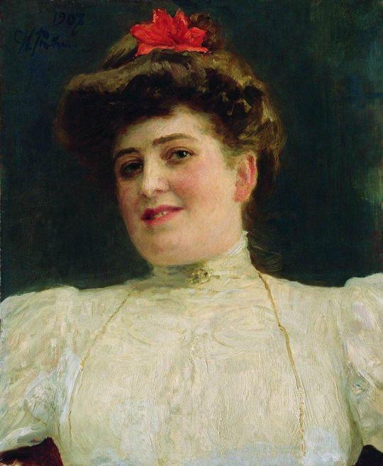 Женский портрет (Ольга Шоофс). 1907