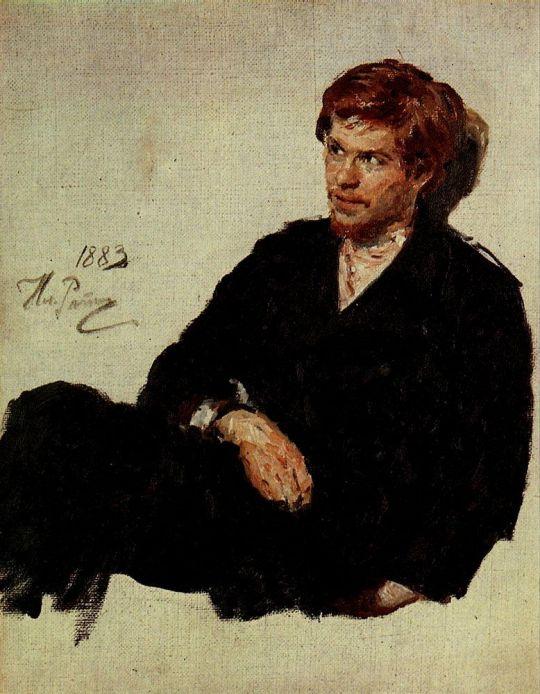 Студент-нигилист. 1883