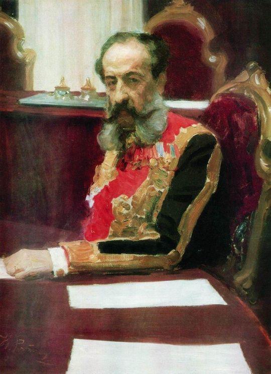 Портрет князя Михаила Сергеевича Волконского. 1903