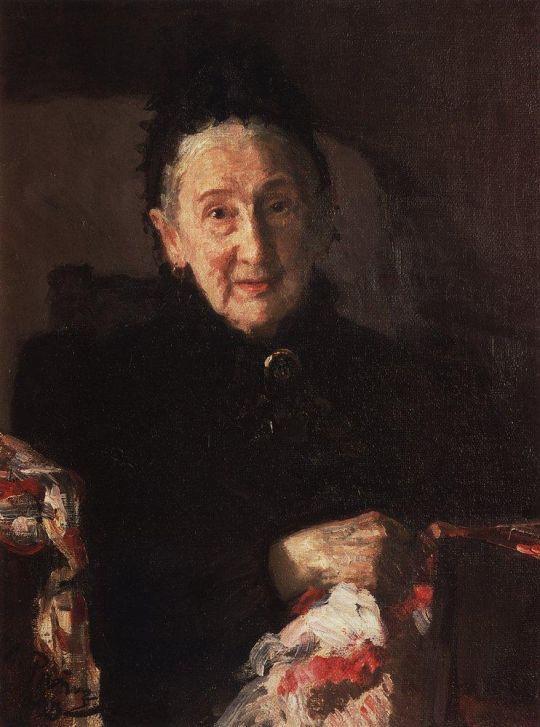 Портрет Л.И.Шестаковой, сестры композитора М.И.Глинки. 1899