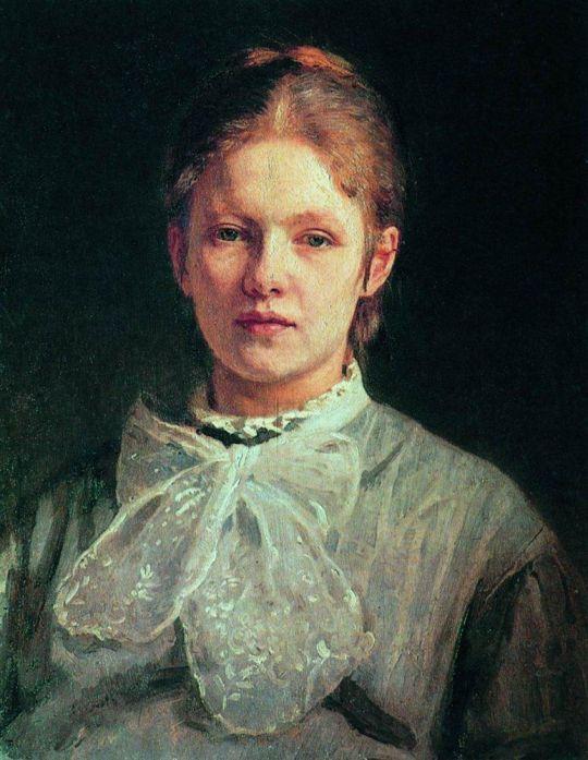 Портрет С.А.Репиной, урожденной Шевцовой