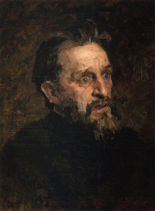 Мужская голова. 1883