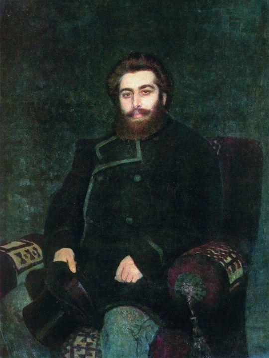 Портрет художника А.И.Куинджи. 1877