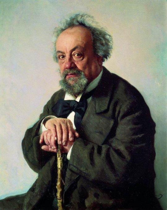 Портрет писателя А.Ф.Писемского. 1880