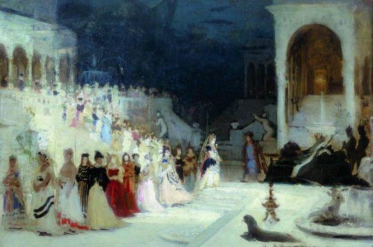 Сцена из балета. 1875