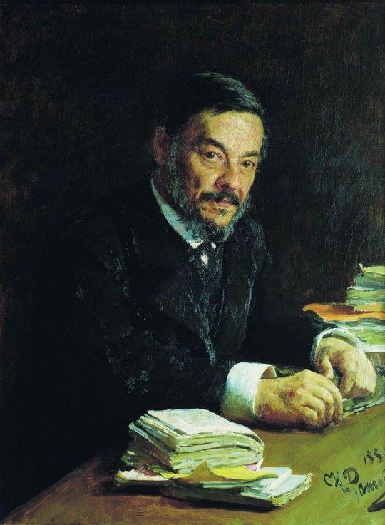 Портрет физиолога И.М.Сеченова. 1889