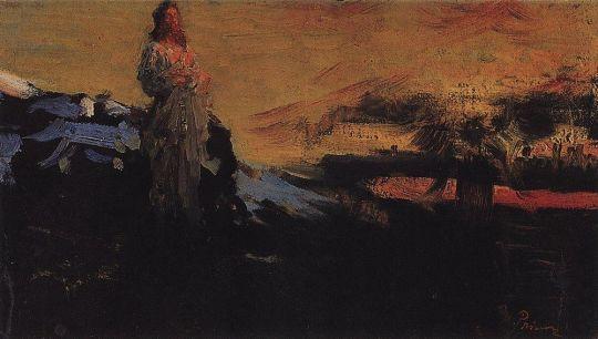 Иди за мною, Сатано!. 1891