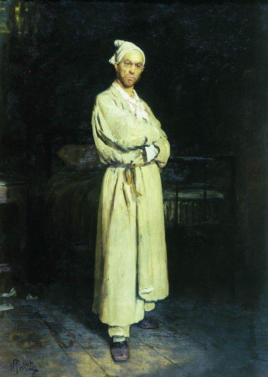 Поприщин (герой новеллы Н.В. Гоголя). 1882