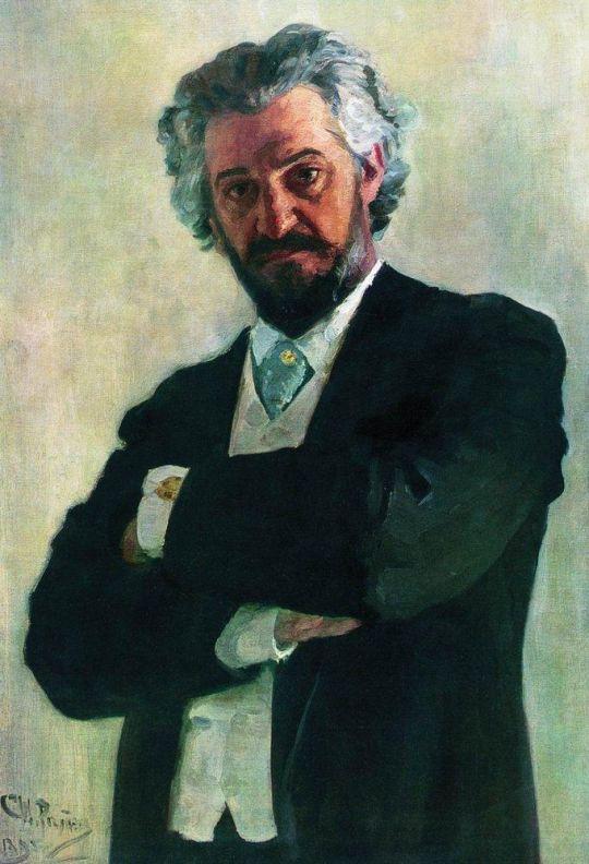 Портрет виолончелиста А.В.Вержбиловича. 1895