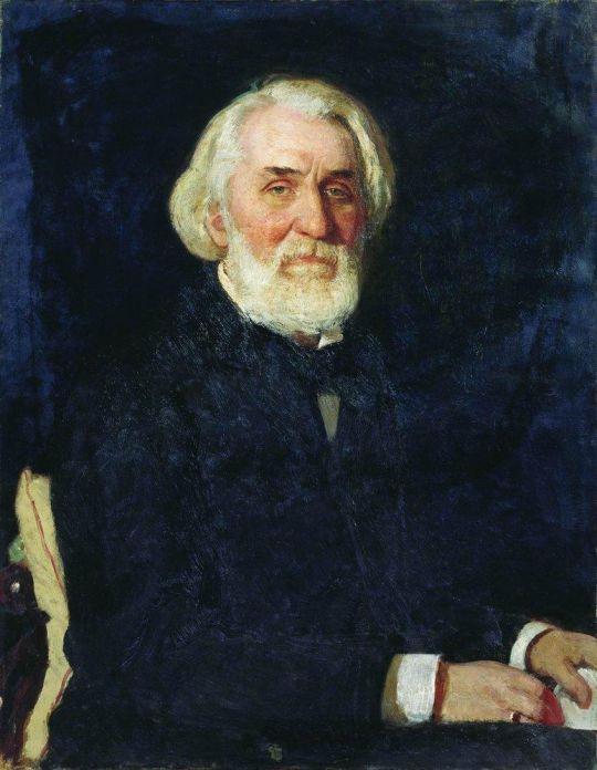 Портрет И.С.Тургенева. 1879