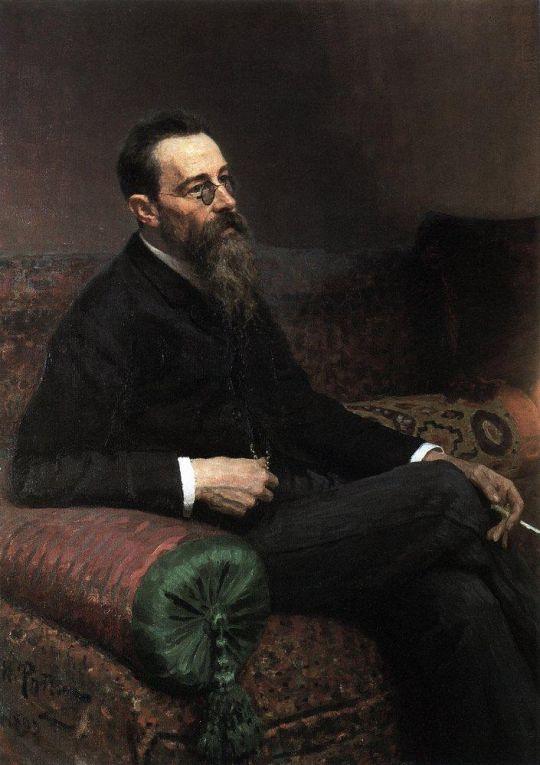 Портрет композитора Н.А.Римского-Корсакова. 1893