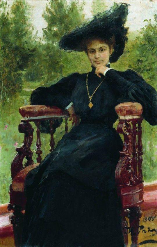 Портрет М.Ф.Андреевой. 1905