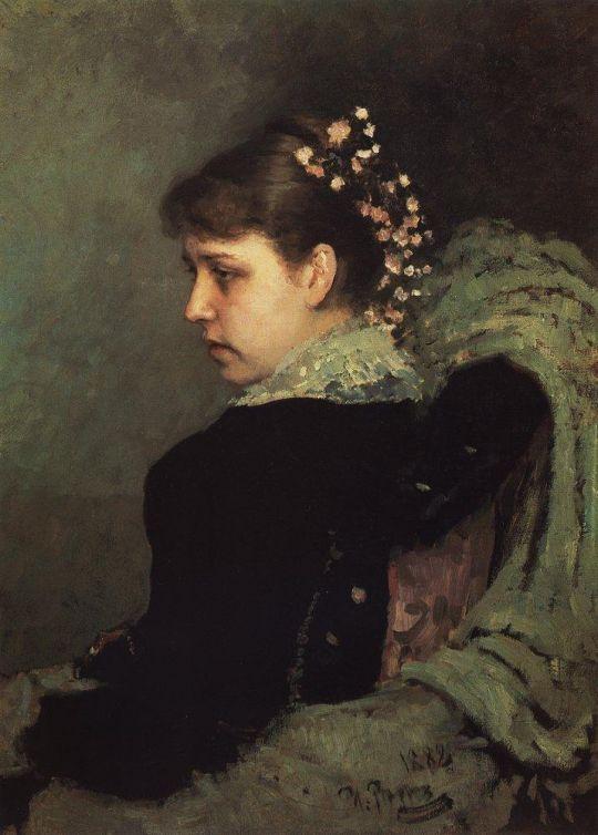 Портрет Т.А.Мамонтовой (Рачинской). 1882