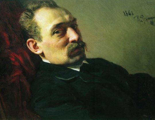 Портрет архитектора Филиппа Дмитриевича Хлобощина. 1868
