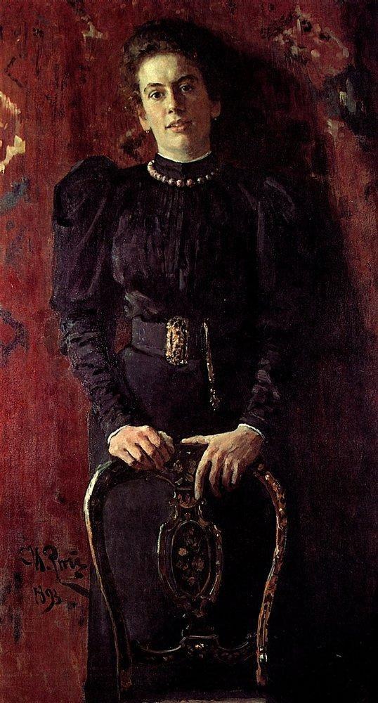 Портрет Т.Л.Толстой. 1893
