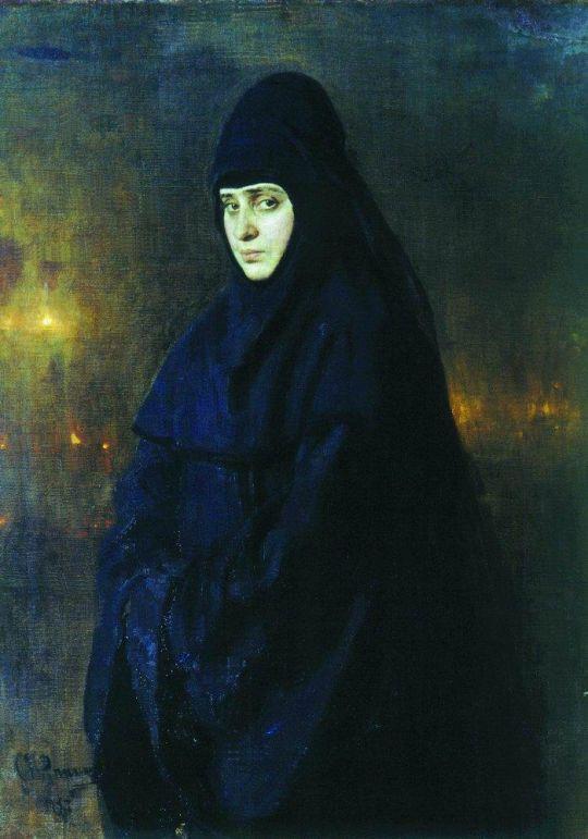 Монахиня. 1887