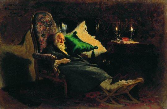 Смерть Федора Васильевича Чижова2. 1877