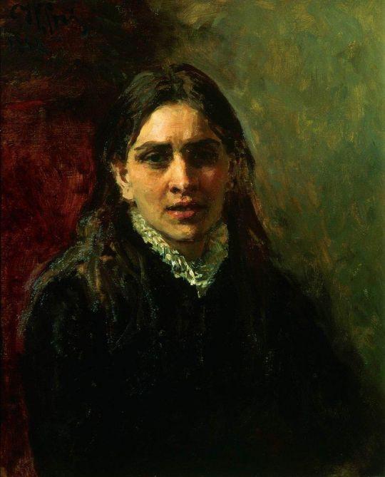Актриса П.А.Стрепетова. 1882