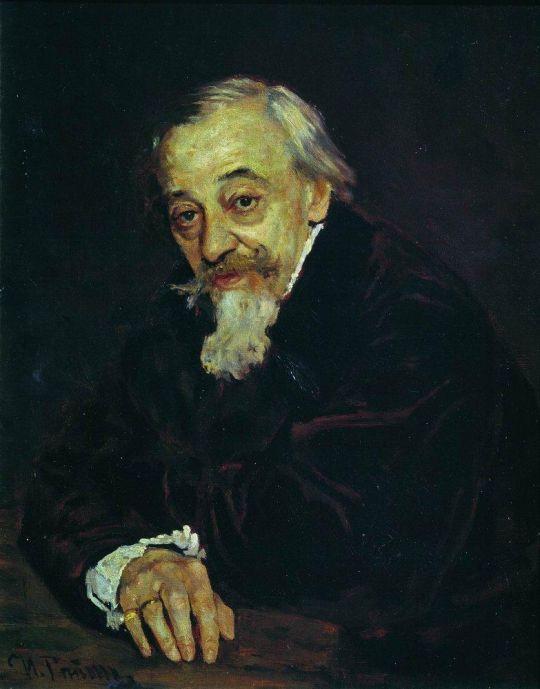 Портрет артиста В.В.Самойлова. 1902