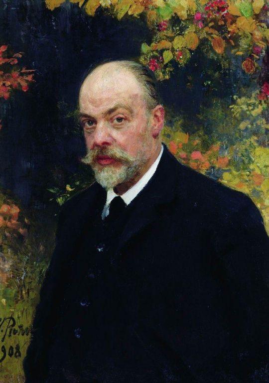 Портрет Крючкова. 1908