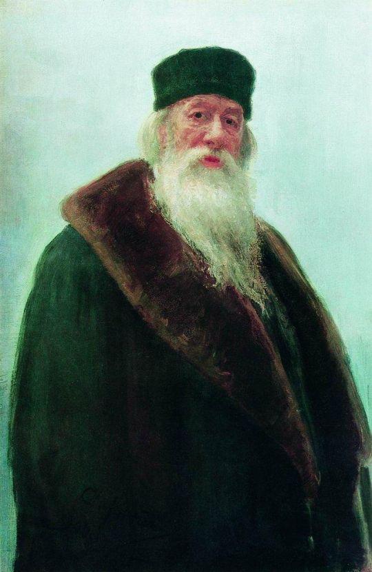 Портрет Владимира Васильевича Стасова. 1900