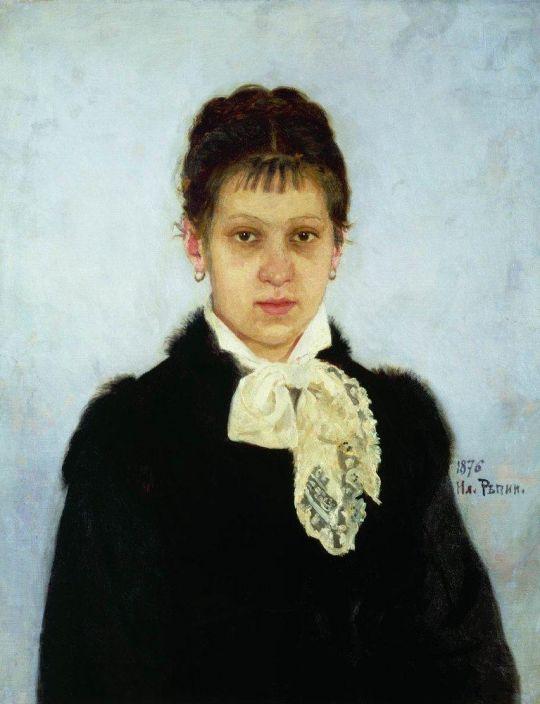 В.А.Репина. 1876