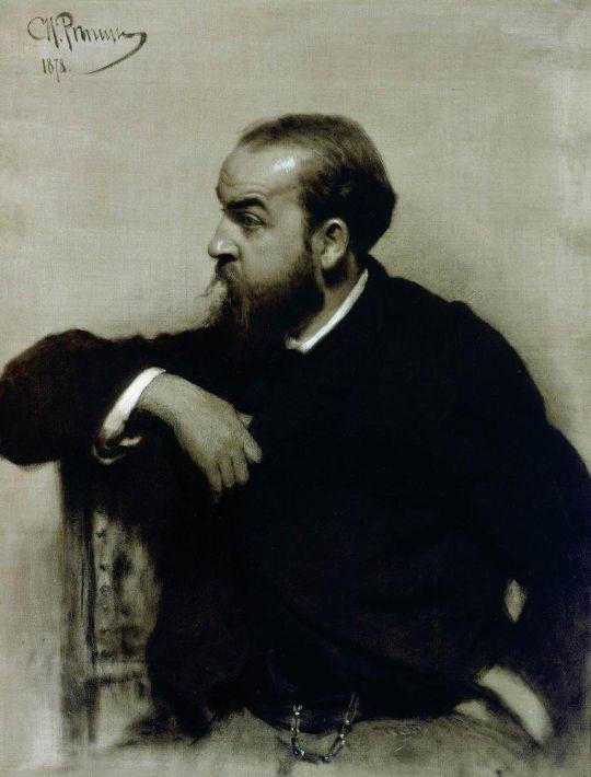 Портрет художника Р.С.Левицкого. 1878
